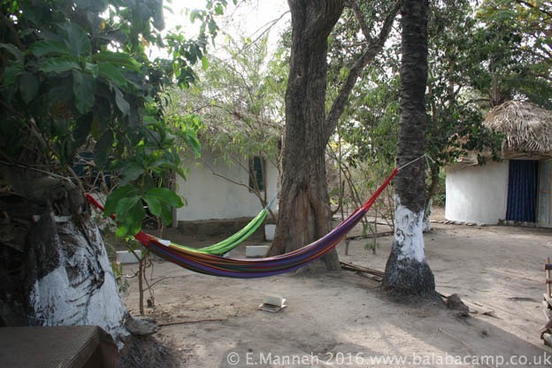 Hammocks are perfect for relaxing