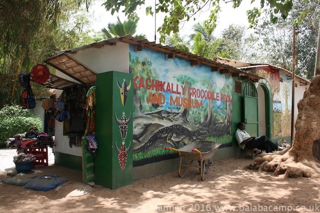 Katchikally Crocodile Pool in Bakau