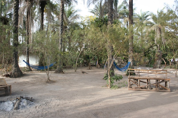 The centre of the camp